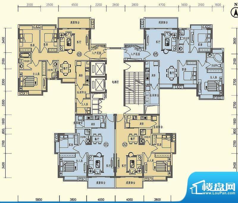 义方家园南开苑标准面积:0.00平米