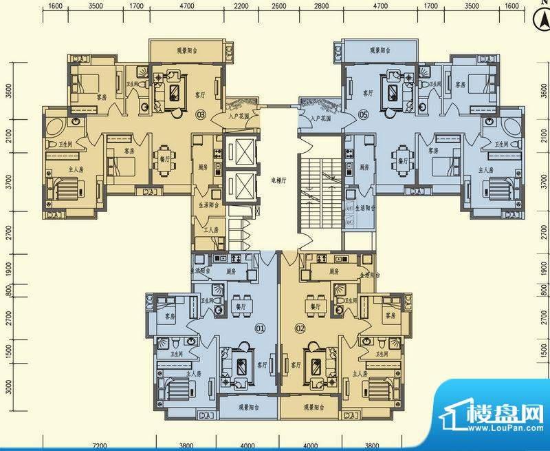 义方家园复旦苑标准面积:0.00平米
