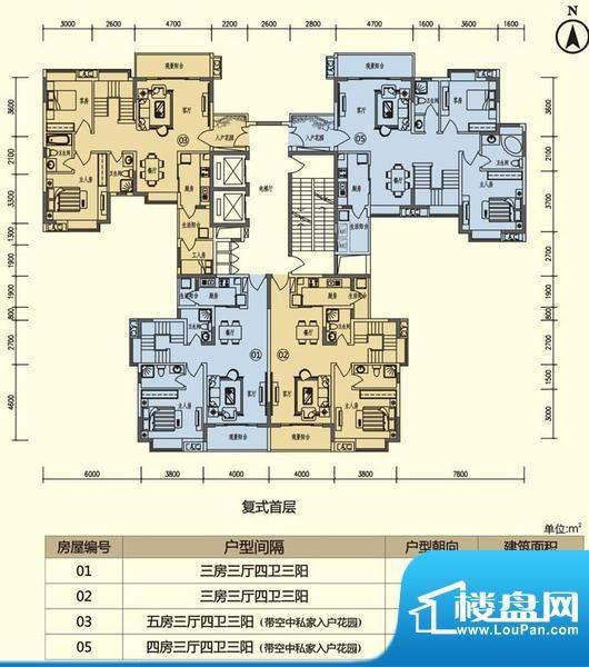 义方家园同济苑复式面积:0.00平米