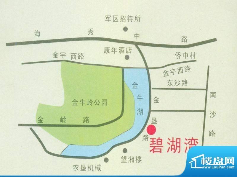 碧湖湾交通图