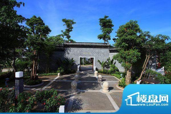 宝安江南城外景图