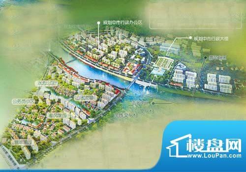 翡翠新城南区鸟瞰图