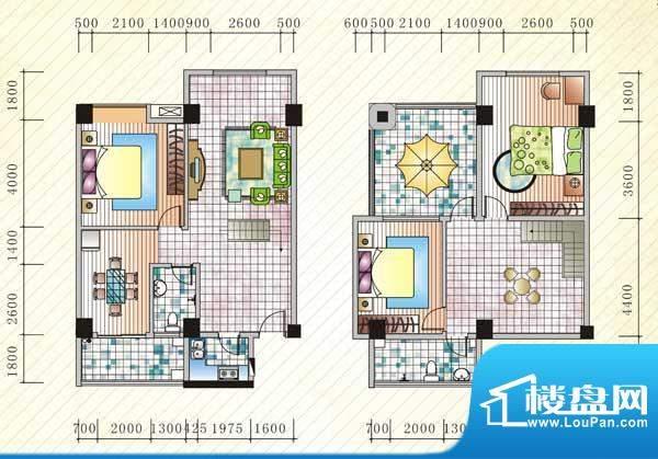 伊比亚河畔25号楼C5面积:185.43平米