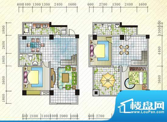 伊比亚河畔25号楼C8面积:189.04平米