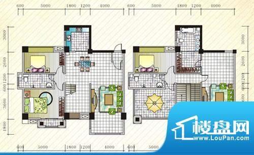 伊比亚河畔26号楼D3面积:238.09平米