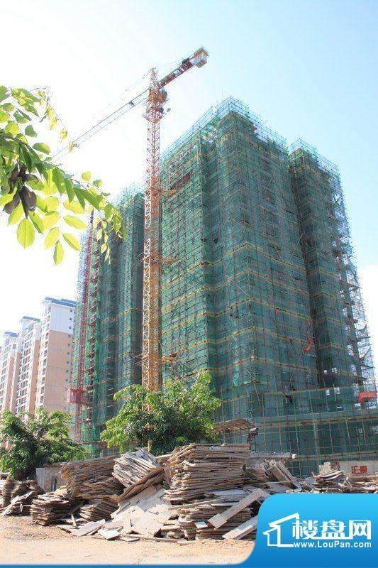 汇景骏园工程进度图(20110824)