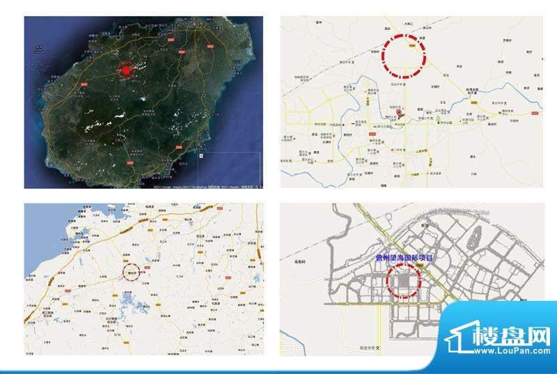 儋州望海国际广场交通图