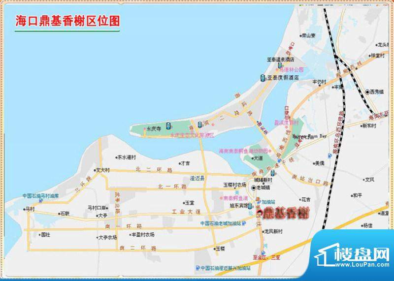 鼎基香榭交通图