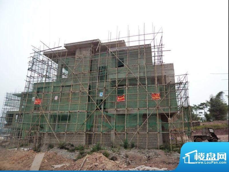 白沙福安水郡A13#别墅工程实景图201203