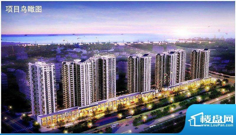 涛昇国际项目鸟瞰图
