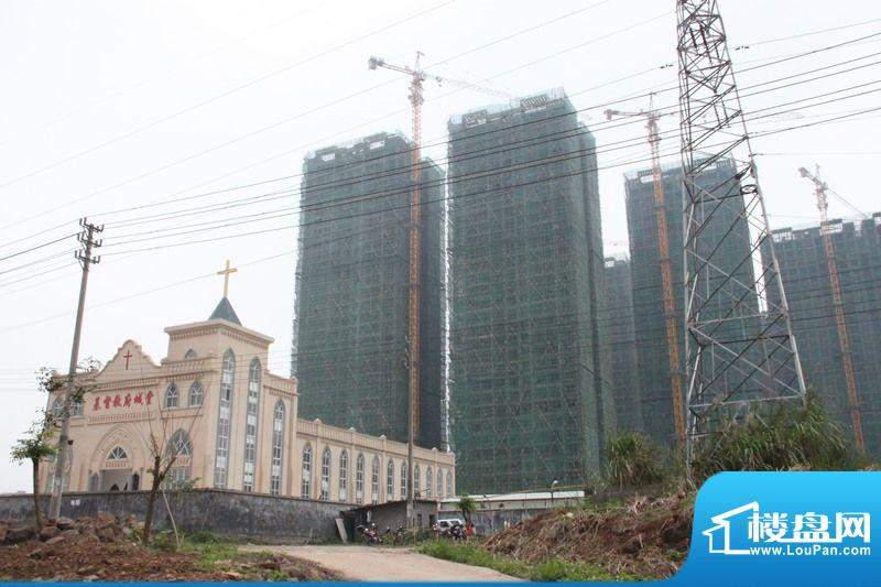 凤翔花园工程实景图(20111201)