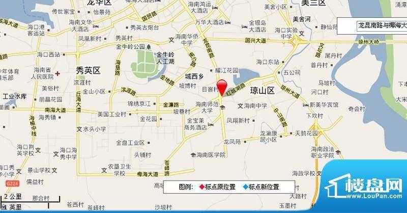 昌茂城邦 交通图