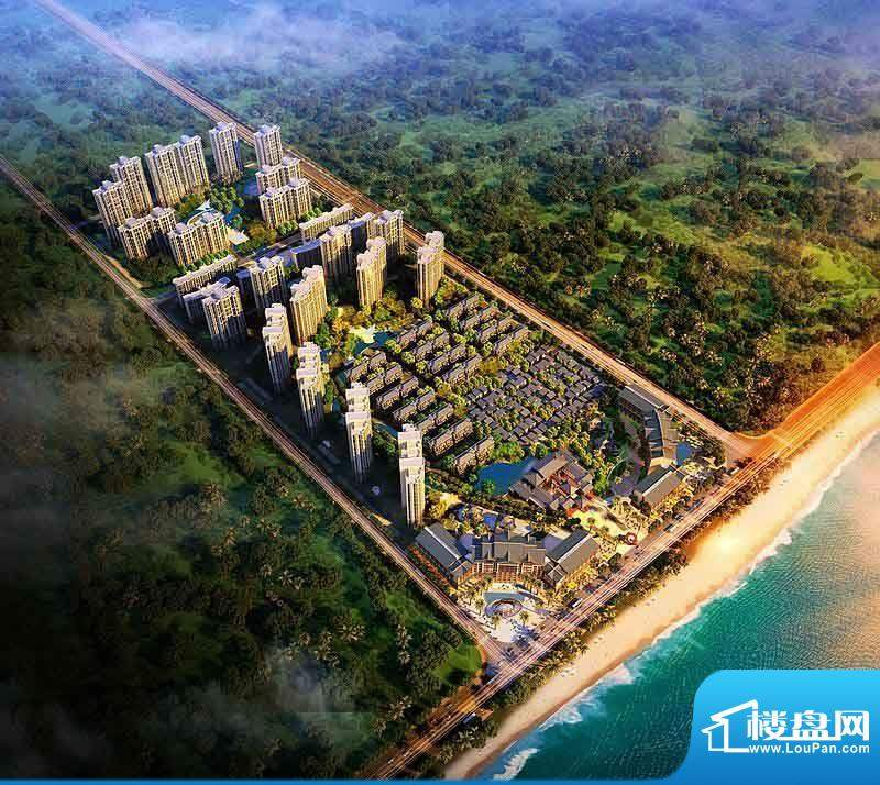 海阳城实景图