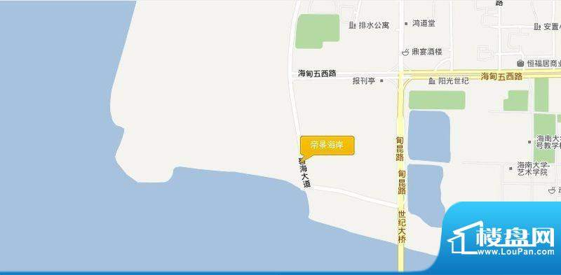 帝景海岸交通图