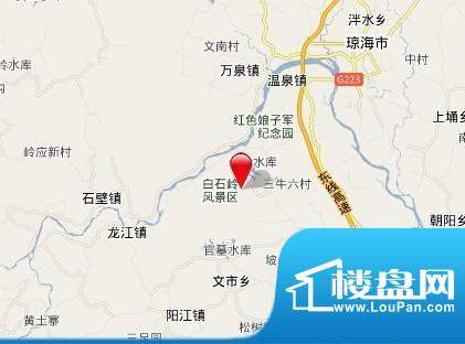 美岭湖交通图