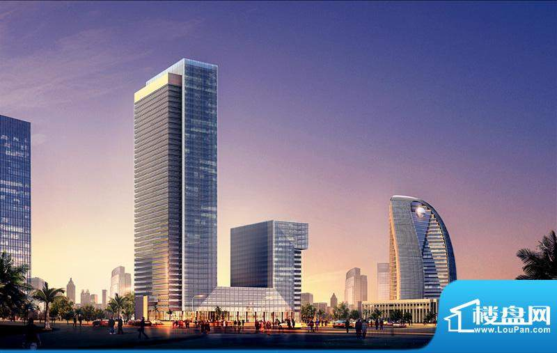 海南大厦外景图