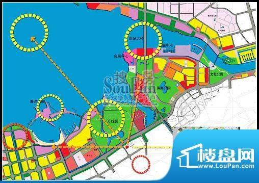 海湾国际交通图