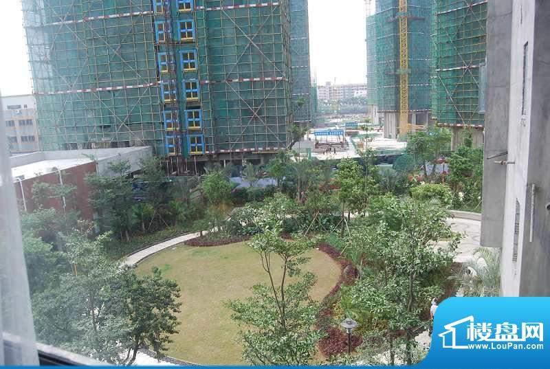 富山居花园园林实景图(2012-9-15)