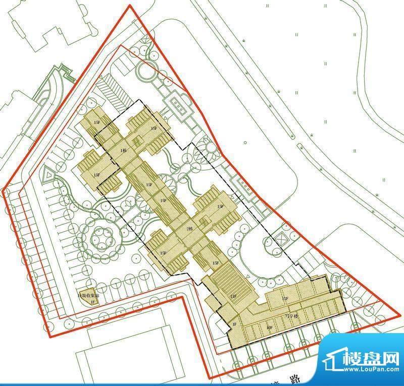 水云天公馆项目交通图