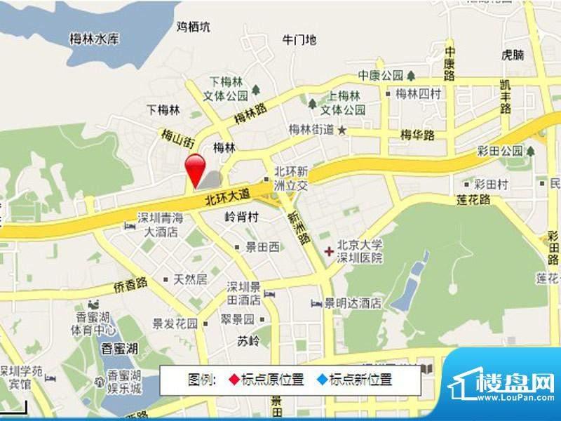 绿景虹湾交通图
