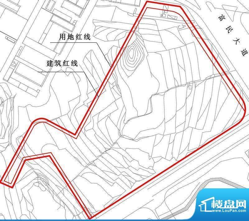 松山湖东郡项目交通图