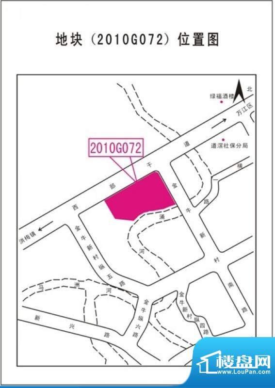 碧琴湾花园项目交通图