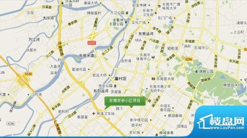 东莞茶亭小区项目交通图