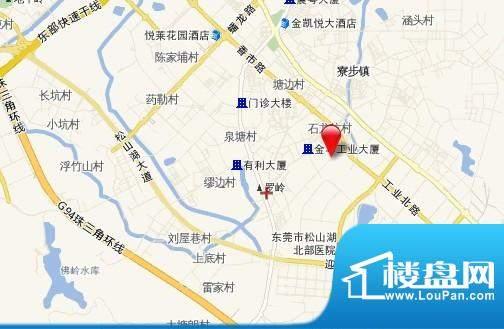 东方公寓项目交通图