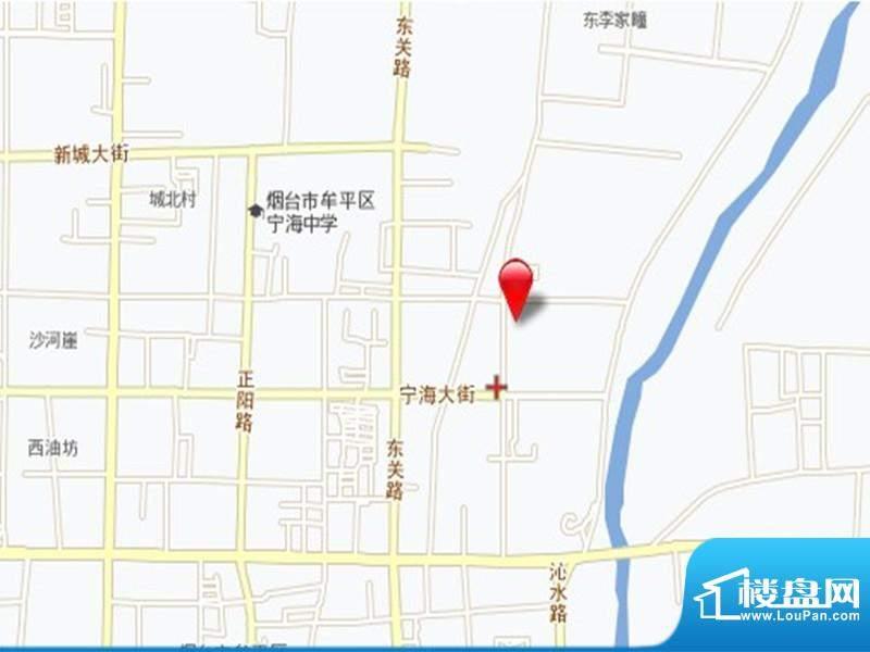 源泰沁河苑交通图