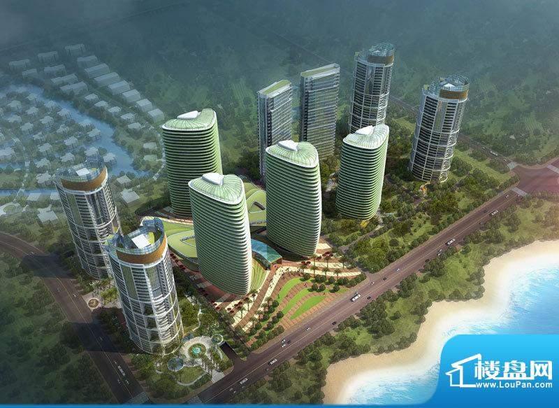 港汇新海岸实景图