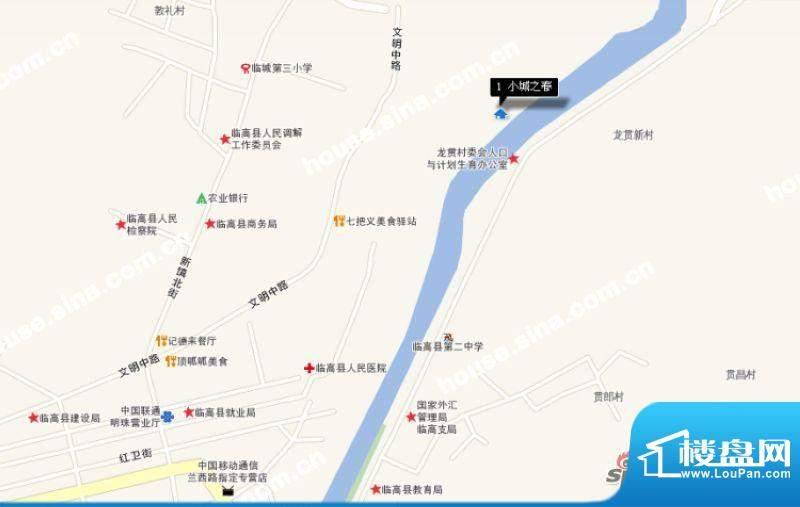 碧桂园·小城之春交通图