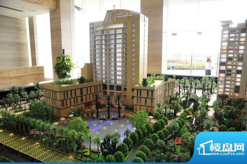 碧桂园·小城之春酒店后身沙盘实景图