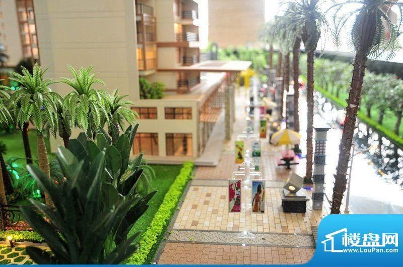 碧桂园·小城之春底层商业沙盘实景图