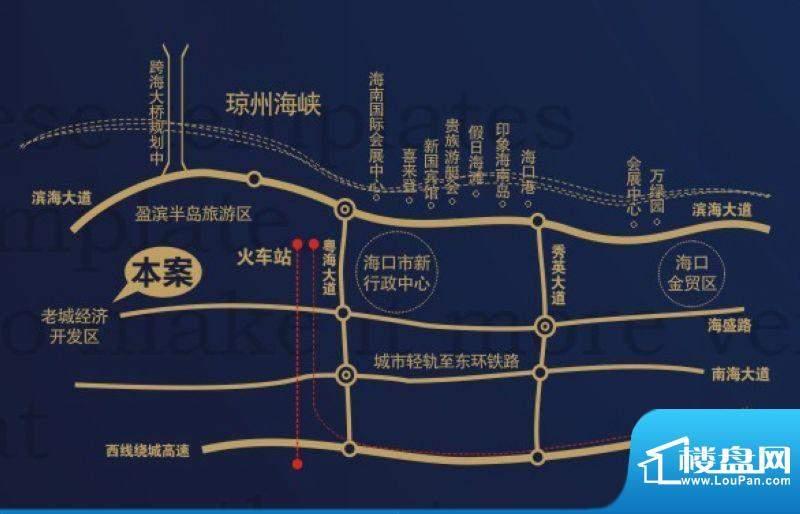 澄江广场交通图