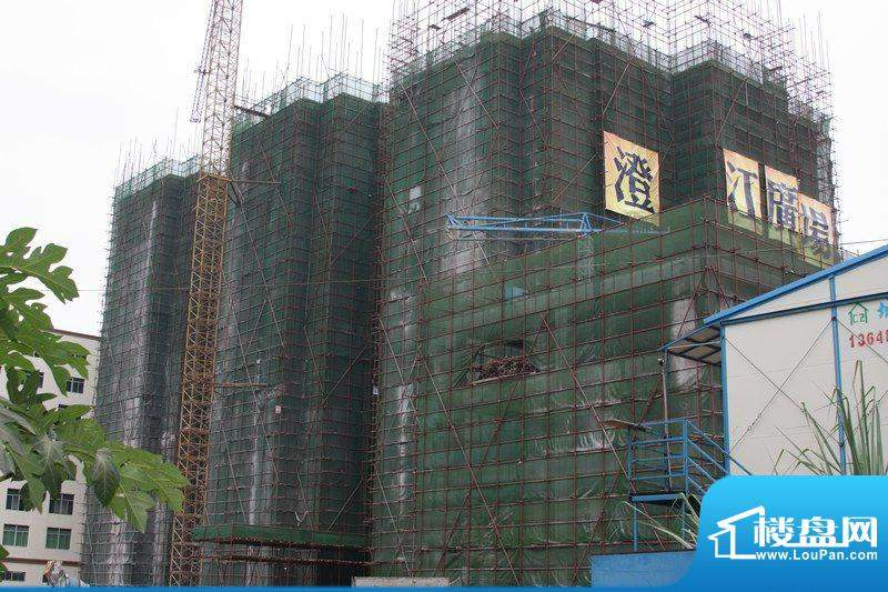 澄江广场工程进度实景图(20110922)