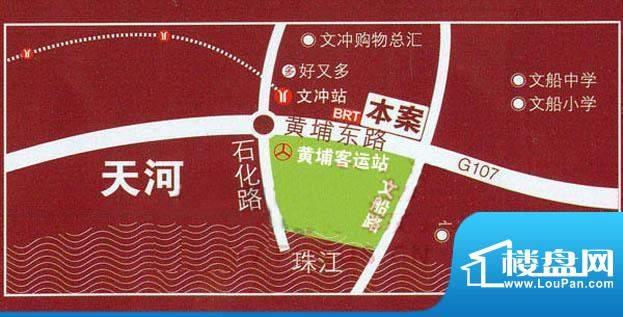 东港花园交通图