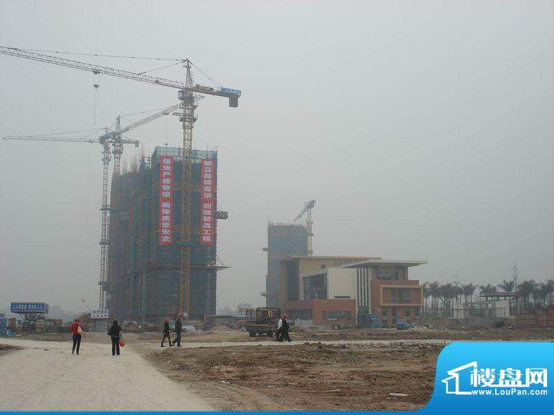 嘉汇城施工外景图(2012.3.22)