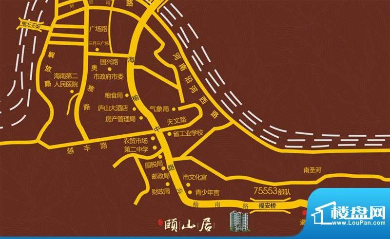圣煜颐山居交通图