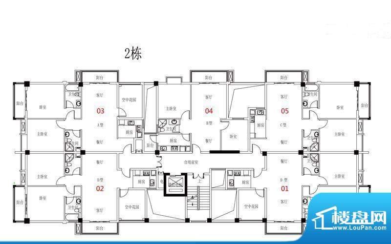 西广场12号2栋三-九面积:0.00平米