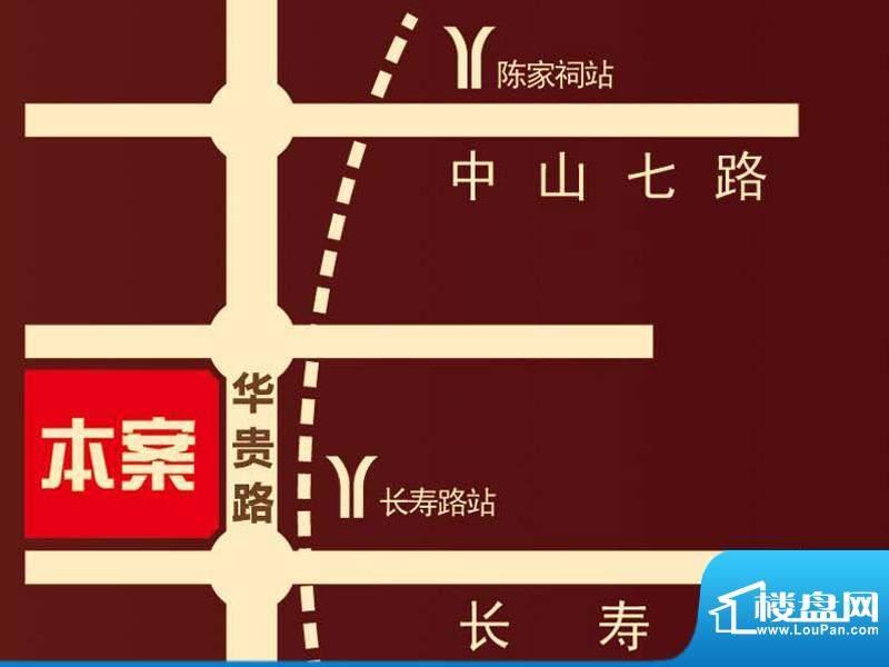 贵贤上品交通图