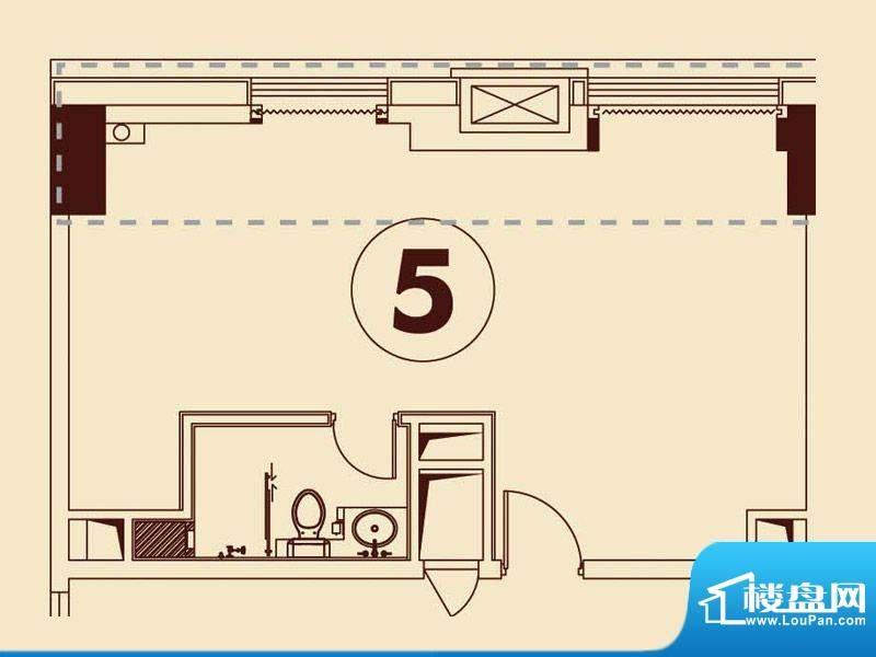 贵贤上品21层至35层面积:69.39平米