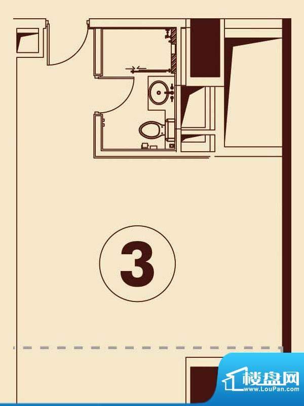 贵贤上品21层至35层面积:74.90平米