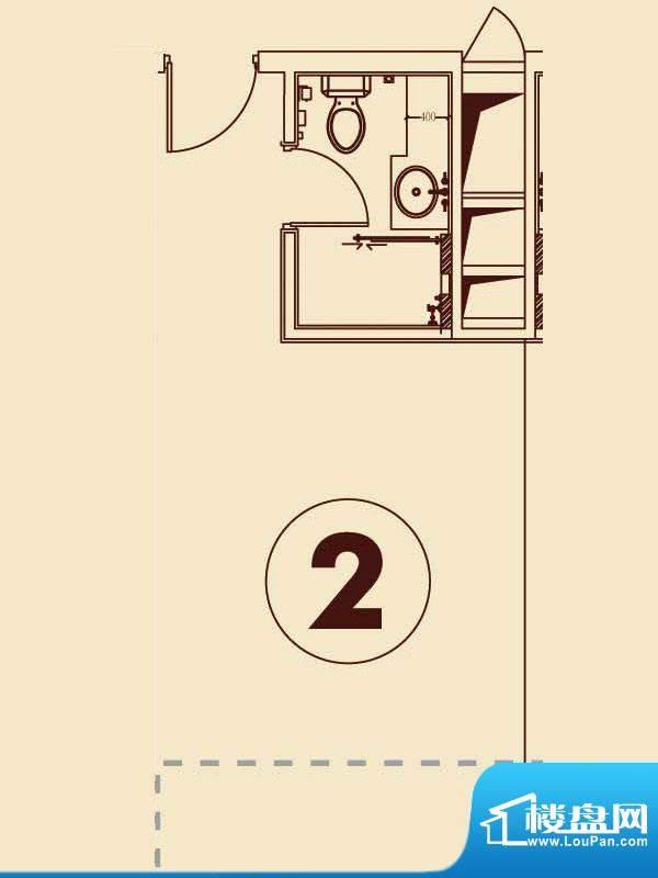 贵贤上品21层至35层面积:50.19平米