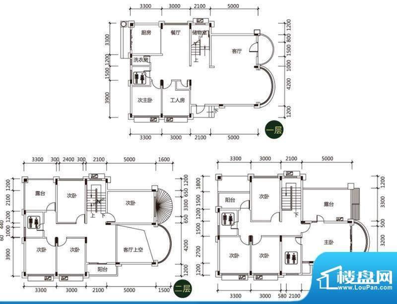 印月·翠谷C栋329面积:329.00平米
