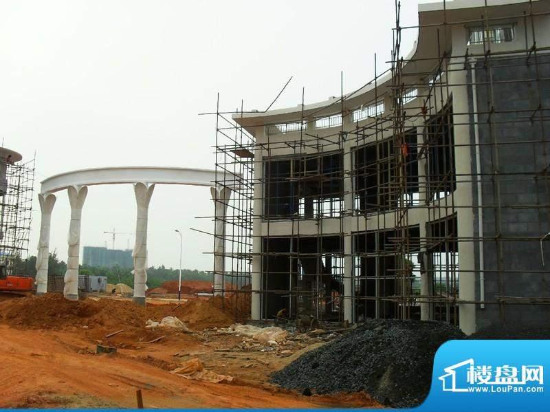 东海椰苑小区2期工程进度实景(2010090