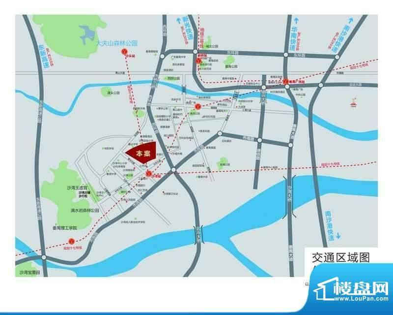 敏建·锦绣世家交通图