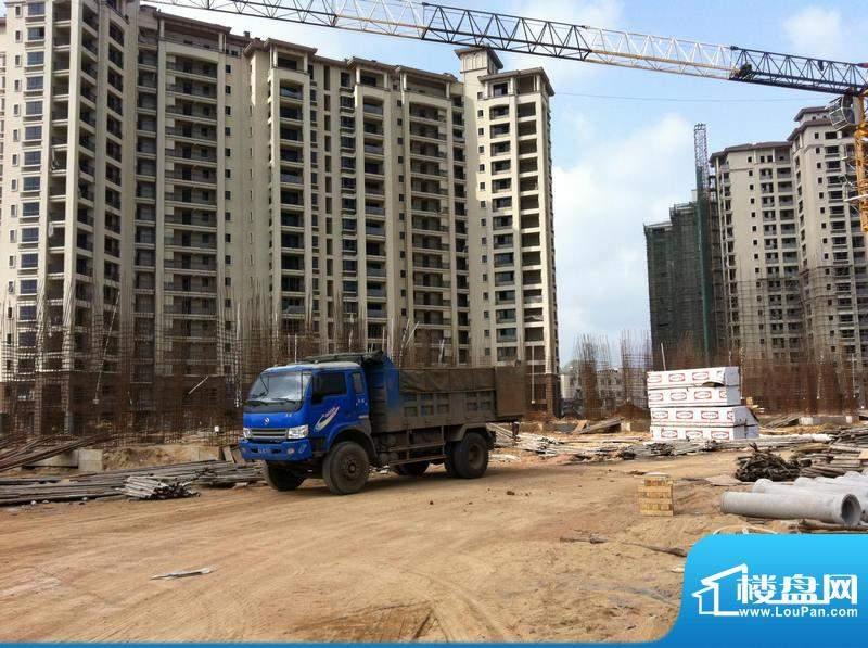大印经典花园二期9号楼工程进度(20110