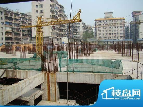 兴隆广场施工实景图(2009.02)