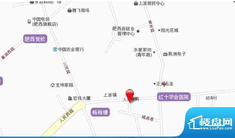 水岸豪庭项目交通图