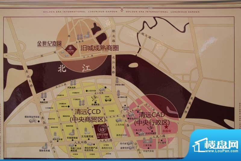 金世纪豪园交通图